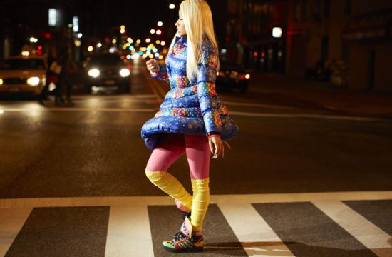 Nicki Minaj Represents for adidas