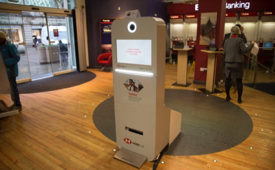 Geometry Global UK Creates In-Branch Interactive Experience to Help HSBC UK Customers Thrive in 2018