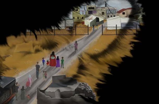 Habitat for Humanity Animation Tells Sad Story of Syrian Refugee