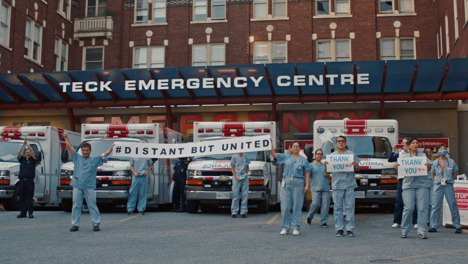 Stirring Heartbeat of the Nation Film Helps Keep Front Line Workers Fighting