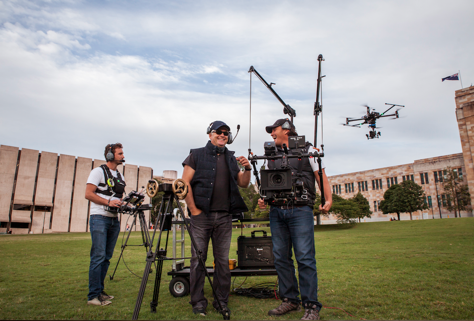 Filmmaker Justin McMillan Shoots for The University of Queensland & RDIO