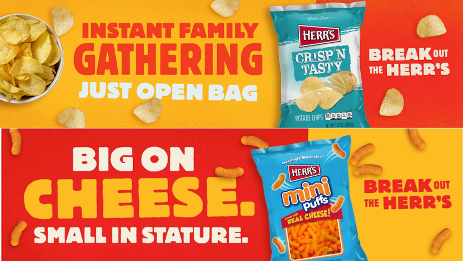 'Break Out the Herr's' Calls All Snack Lovers in New Campaign from quench
