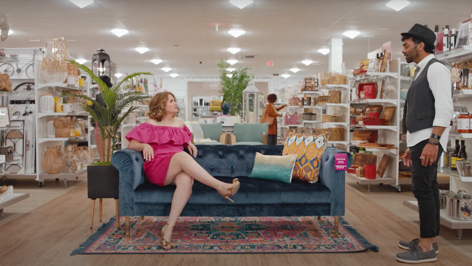 Actress Jillian Bell Makes Herself at Home in HomeGoods' Comedic Shorts