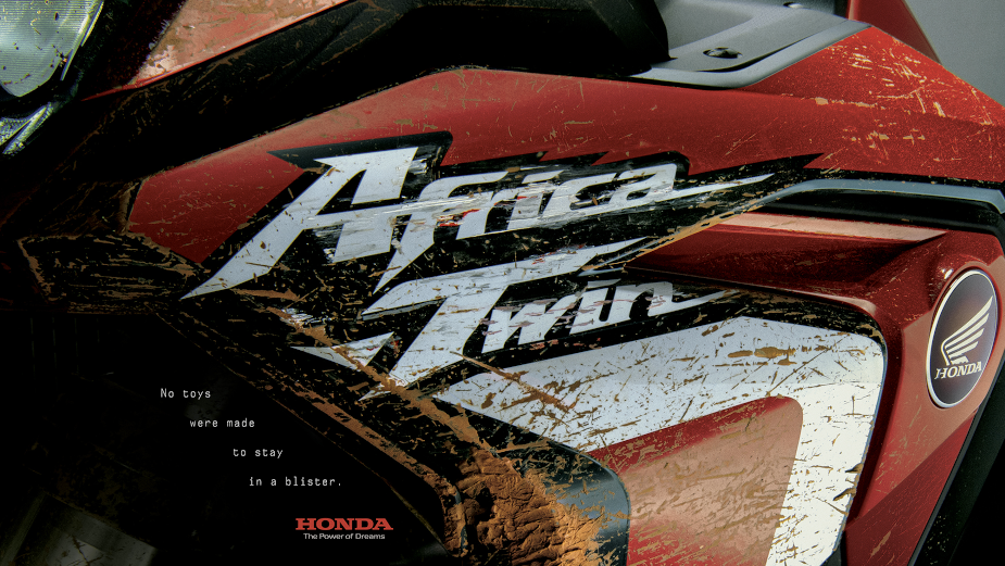 Honda's Africa Twin Takes a Great Ride for Close Up Campaign