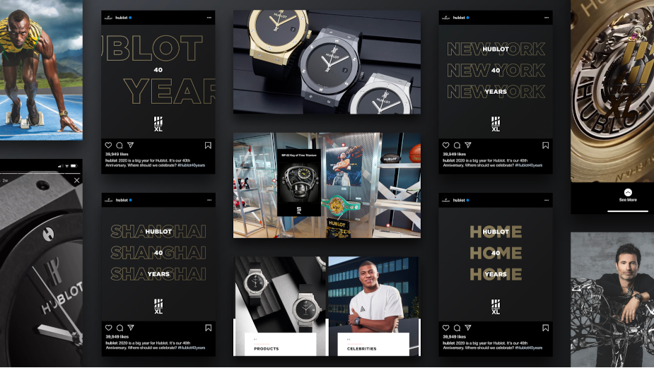 Huge Helps Hublot Commemorate 40th Anniversary with Celebration Merging Physical and Digital