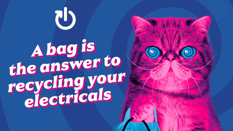 Material Focus Unleashes 'HypnoCat' to Brainwash People Into Making Better E-Waste Decisions