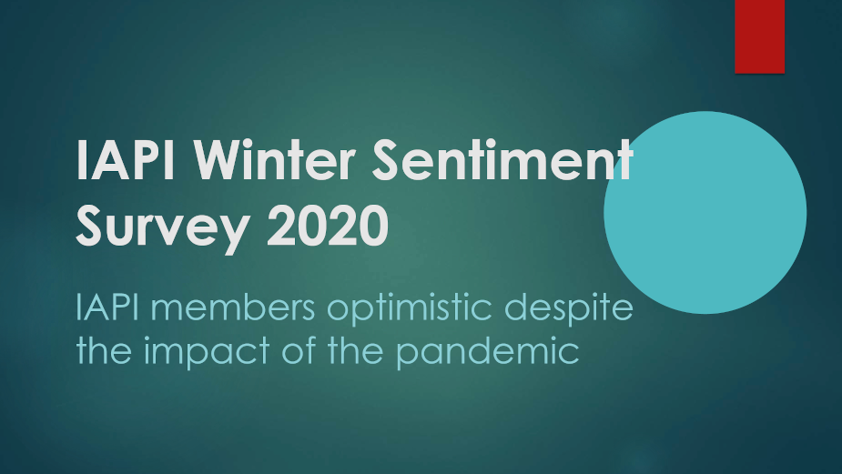 IAPI Winter Sentiment Survey 2020