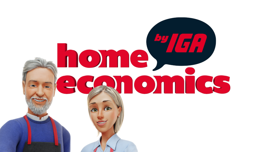 IGA Supermarket Goes Back to School to Help Modern Families with Home Economics