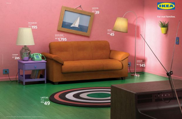 This Iconic Living Room Could Be Yours Using Only IKEA Furniture