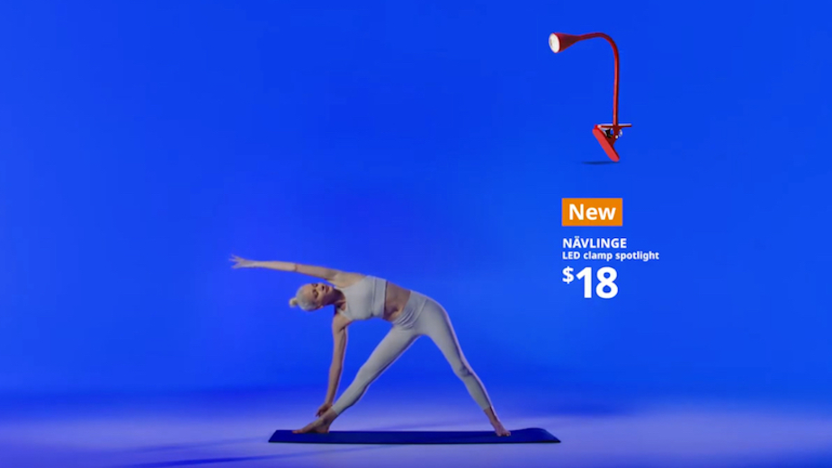 IKEA Soothes Mind and Body with Product Pose Yoga