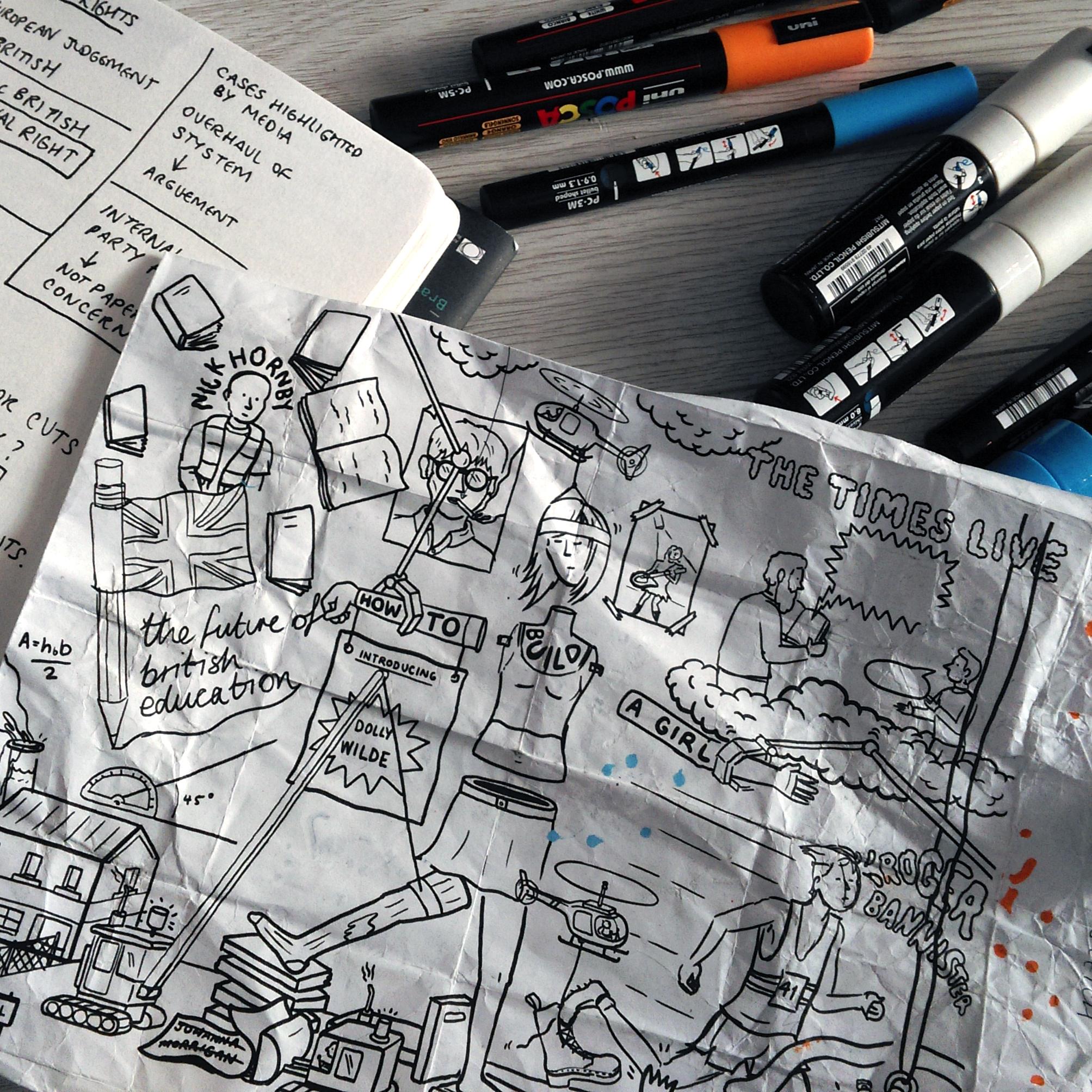Jelly London Takes Us Behind the Scenes with Illustrator Matt Johnstone