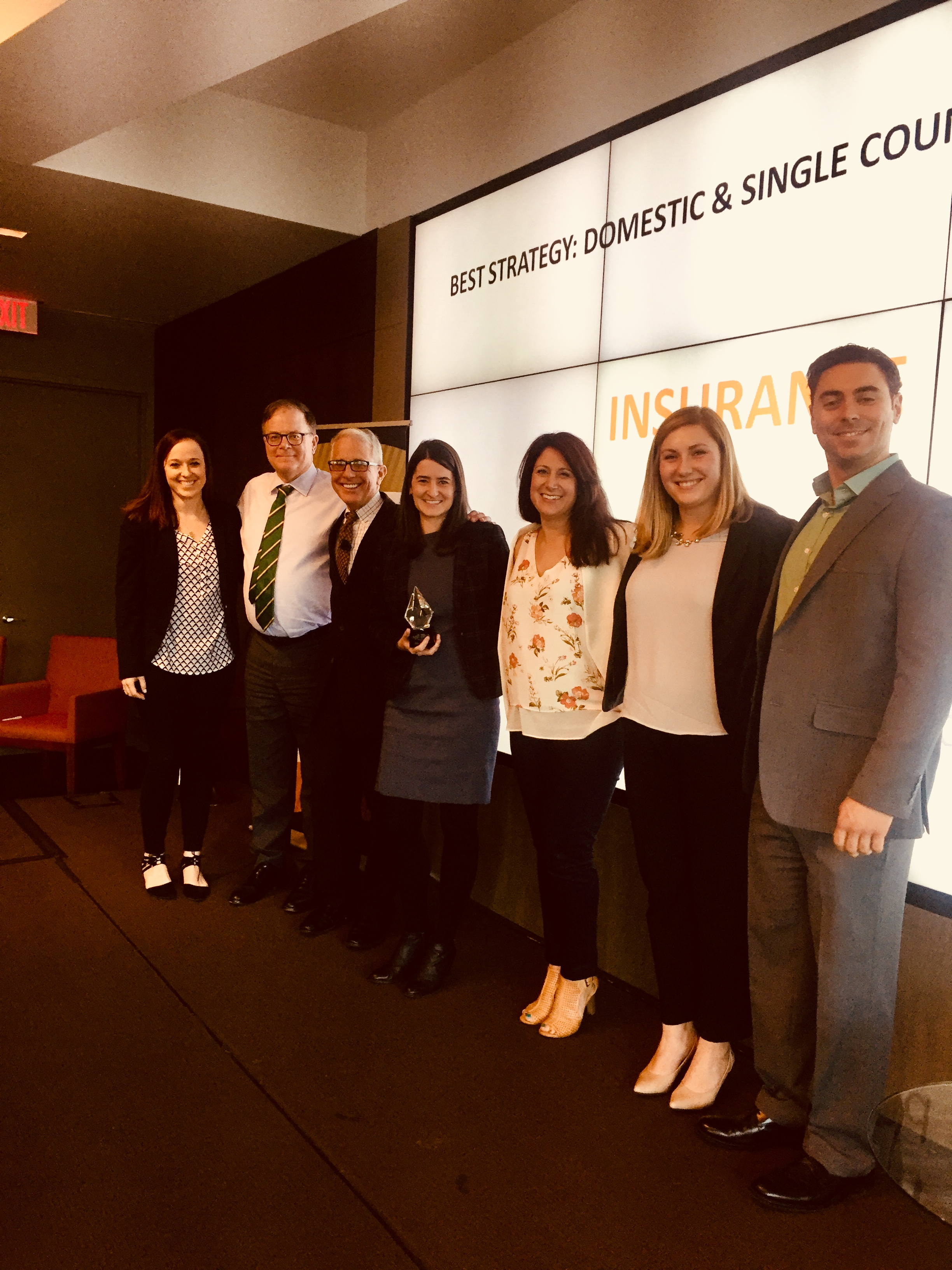 MERGE Boston and AIG Win Gramercy Award for Washington Post Cybersecure Content