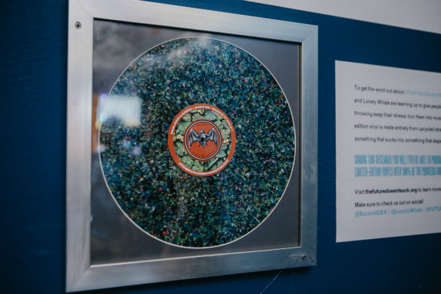 Sustainability Takes Vinyls in BACARDÍ and Lonely Whale Pledge