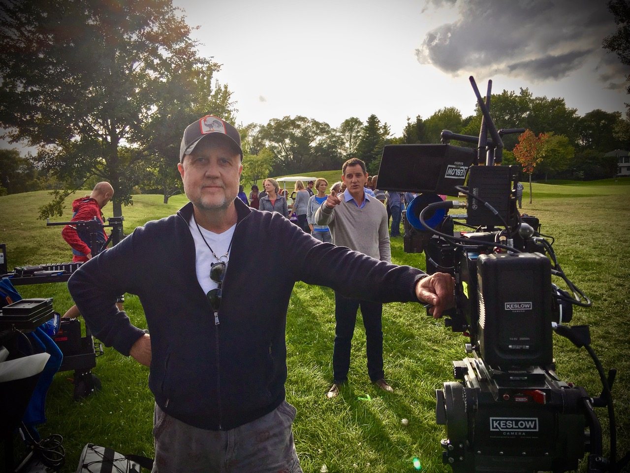 Sparks Signs Director and Cameraman Blair Hayes