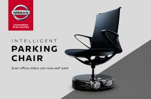Nissan Launches Self-Parking Office Chair with TBWA\HAKUHODO Japan