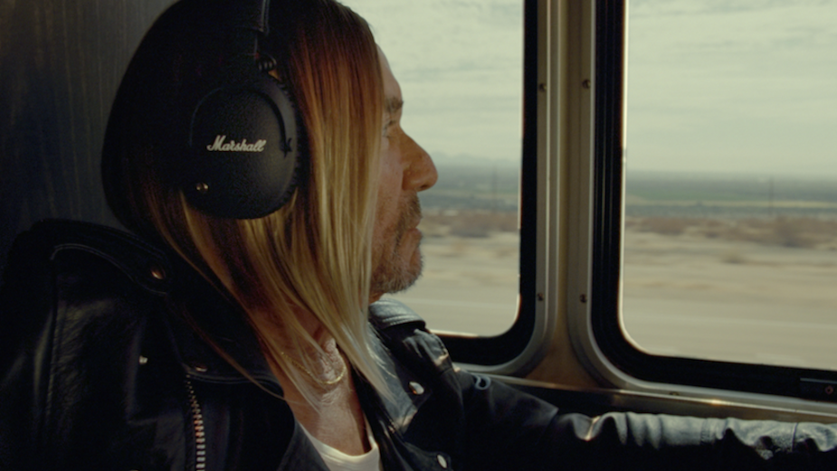 Iggy Pop Centres Counter Culture Rebellion and Unity for Marshall's Never Stop Listening