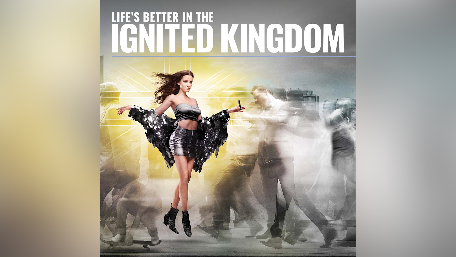 'Ignited Kingdom' Campaign from Five by Five Marks UK's First Major CBD Push for US Cannabis Brand