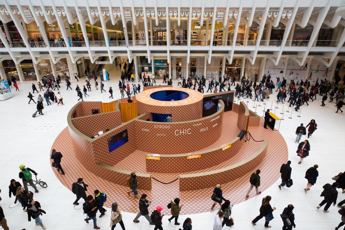 Bvlgari Unveils Unique Interactive Labyrinth in World Trade Center