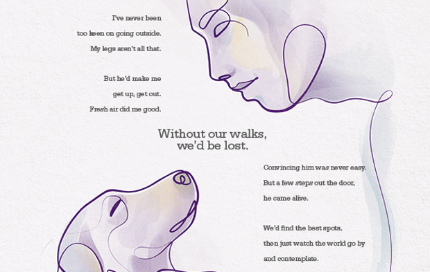 Louis Theroux Narrates Heartwarming Campaign Showing Inseparable Human-Animal Bonds