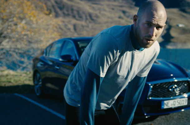 INFINITI Spot Compares Olympians and Ironmen to its High-Tech Cars