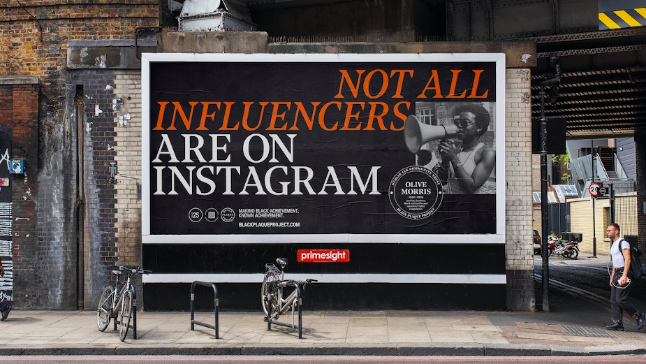 Striking Copy-led Campaign Teases the Remarkable Stories Behind Britain's Forgotten Black Heroes