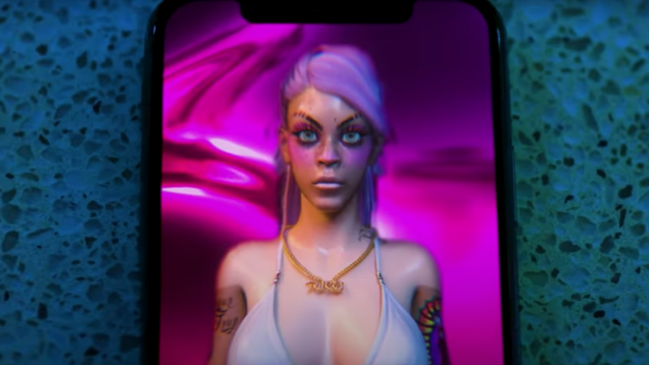 Rico Nasty's Animated Avatar Sultry Serenades Out of an iPhone in Vivid Video