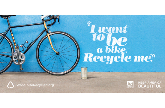 Garbarge Dreams in New Recycling Campaign