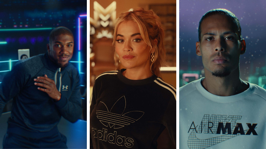 Rita Ora, Anthony Joshua and Virgil van Dijk Amongst Host of Celebs in JD's 2020 Xmas Ad