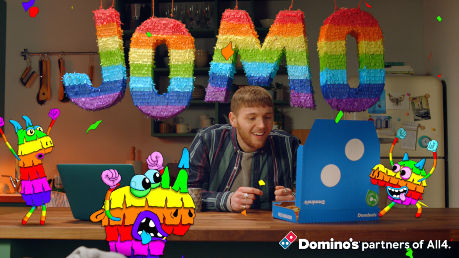 Domino's Eccentric Idents Bring Joy to Those Missing Out