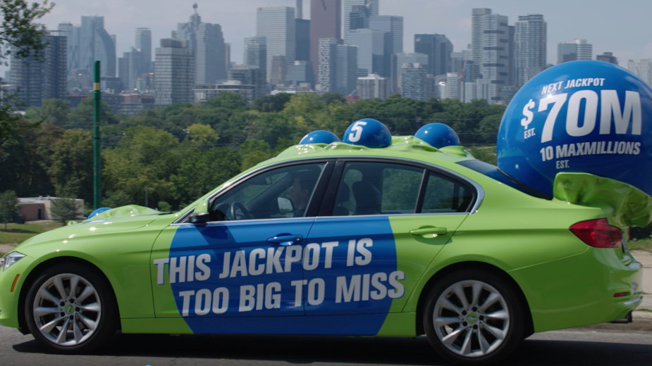 LOTTO Max Unleashes Larger Than Life Lottery Ball Tour Across Ontario
