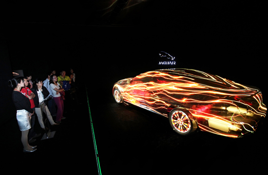 Auditoire\China's Interactive Experience for Jaguar 13MY