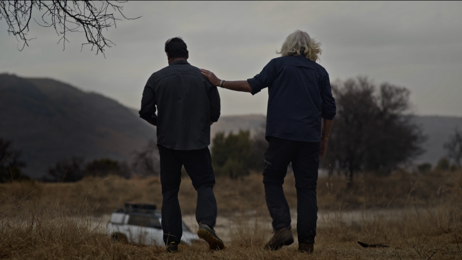 Hooligan Editor Peter Mostert Heads into the Wilds of Africa for 2020 Land Rover Defender Ad