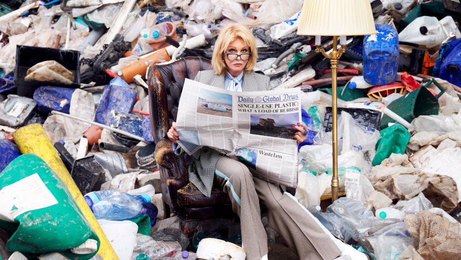 Joanna Lumley Gets Her Green on with Brita to Ease Britain's Sustainability Issues