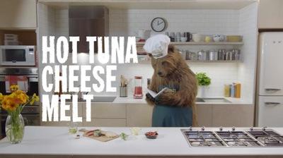 John West Launches New Fiery Range with 'Chef Bear' via Cummins&Partners
