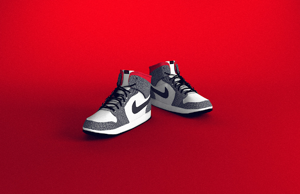 The Augmented Reality Jordans that Reveal the Future of Fashion