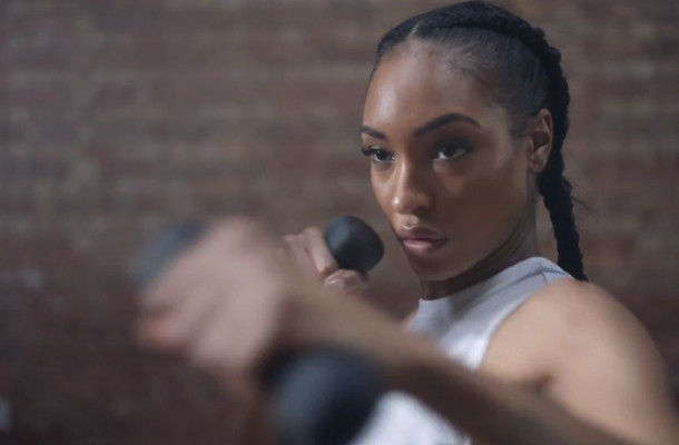 Jourdan Dunn Steps into the Ring for Smartwater