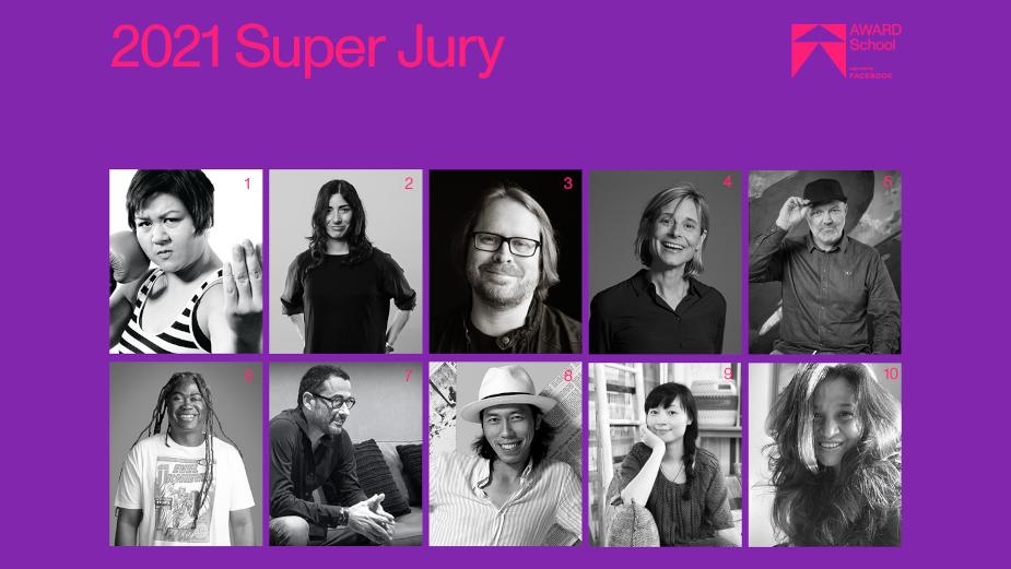 AWARD School Announces Super Jury 2021