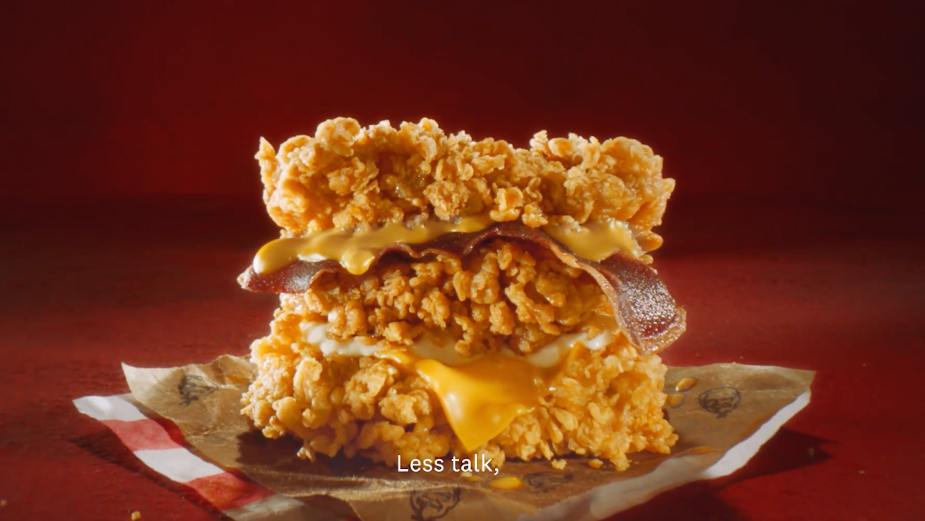 KFC's Cheesy Zinger Double Down and Triple Down Burgers Launch is #SorryNotSorry to Your Diet