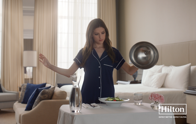 TBWA/Chiat/Day NY Launches Hilton Campaign Starring Anna Kendrick