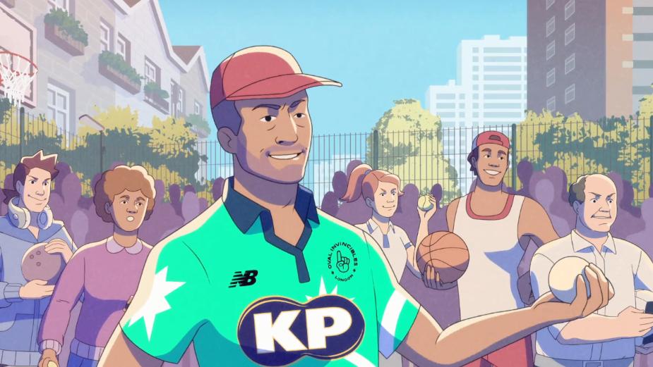 KP Snacks Epic Animated Idents Celebrate Inaugural Hundred Cricket Tournament