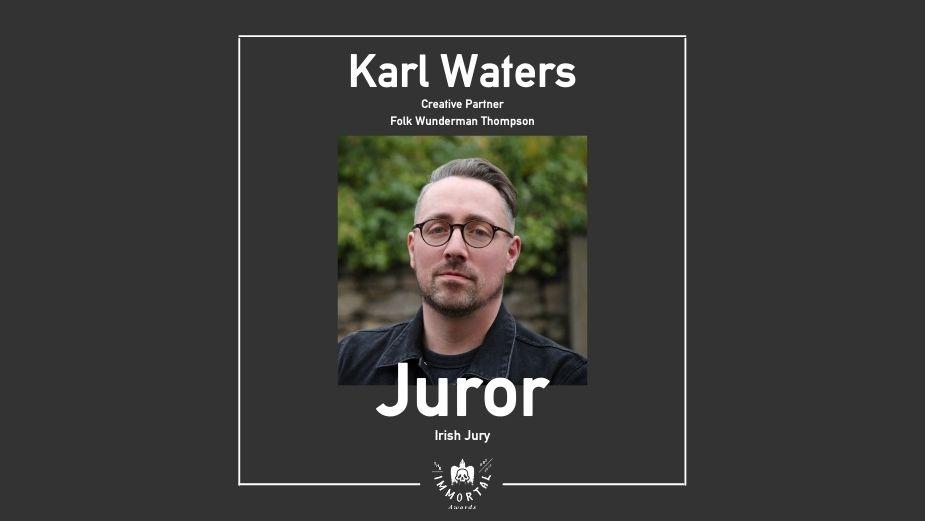 Folk Wunderman Thompson's Karl Waters Joins The Immortal Awards Jury