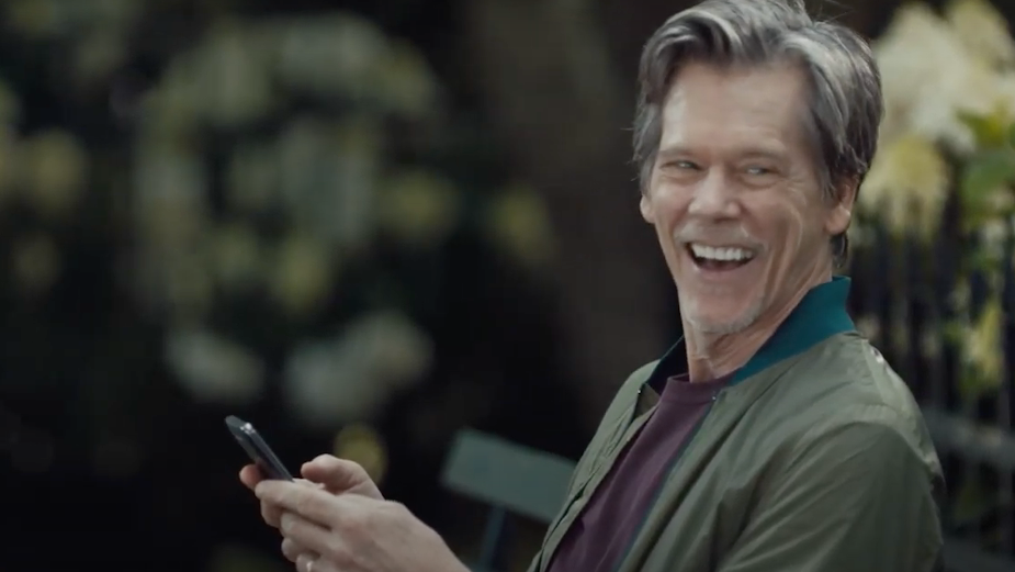 Kevin Bacon Still Evokes Network Envy for Refreshed EE Spot
