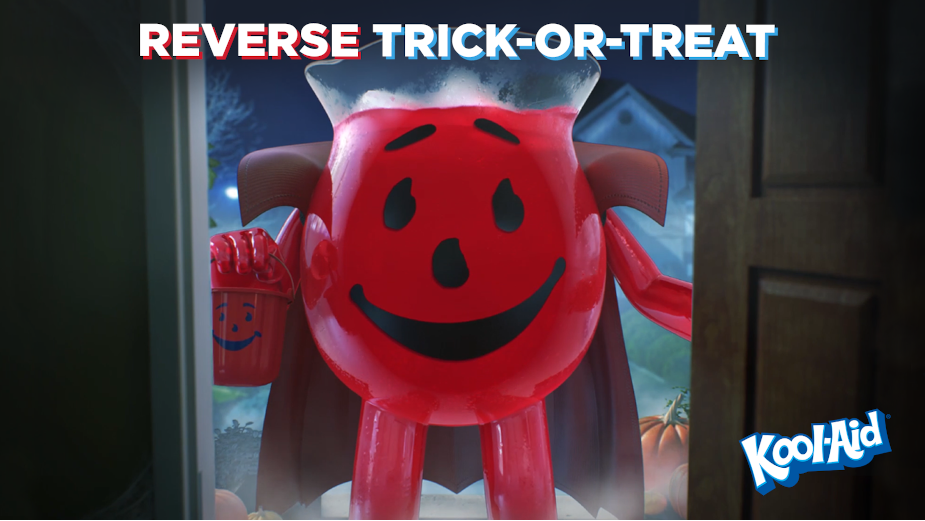 Kool-Aid Man Crashes through Halloween to Save Trick-or-Treating This Year