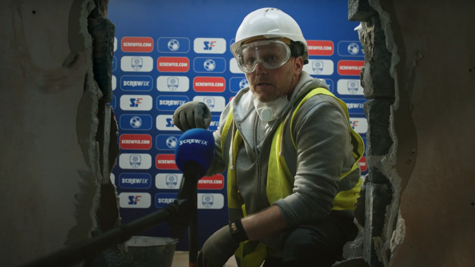Screwfix Celebrates a Job Well Done with Official Sponsorship of Sky Sports Football