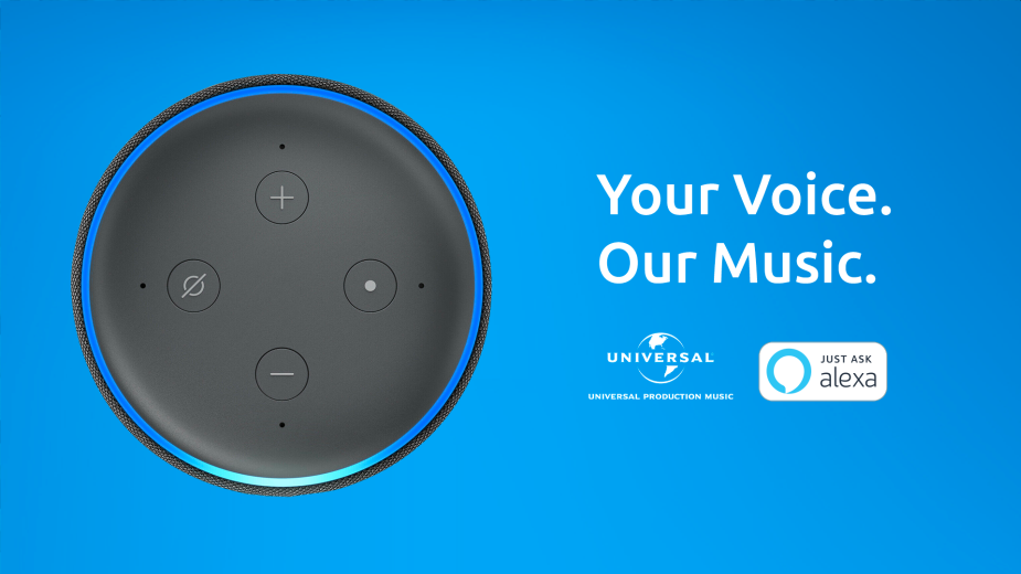 Universal Production Music Launches Alexa Voice Skill for Music Search