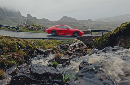 Porsche's New Cars Welcome You To Life in Breathtaking Skye Location