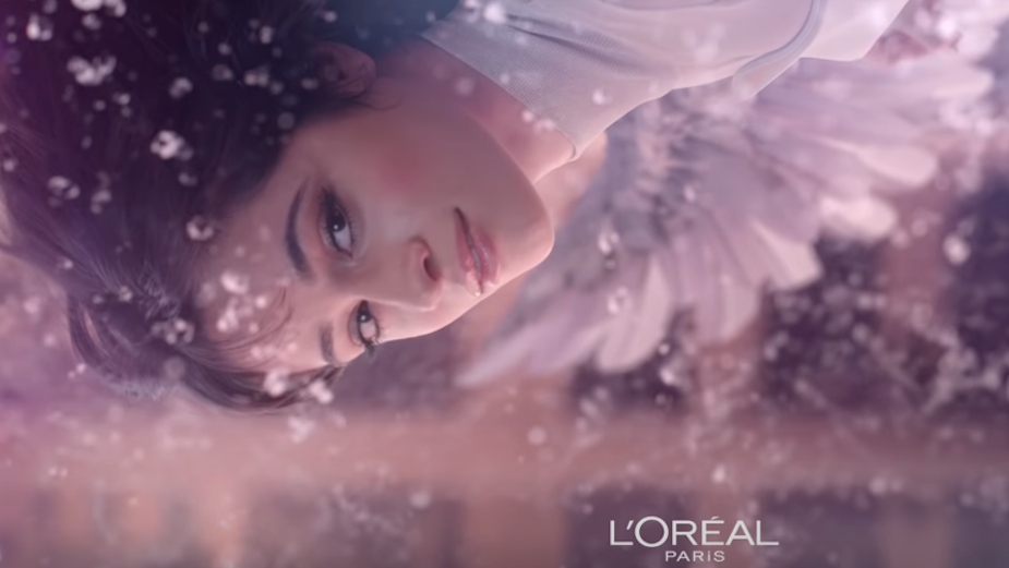 L'Oreal Paris Mascara Attracts Muses from Heaven in Angelic TV Campaign
