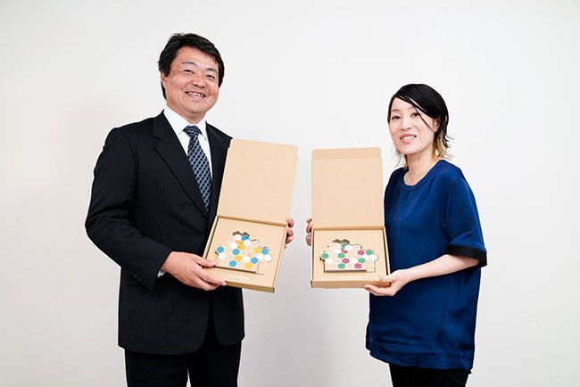 How a Cardboard Manufacturer Came to Buy Dentsu Design Rights