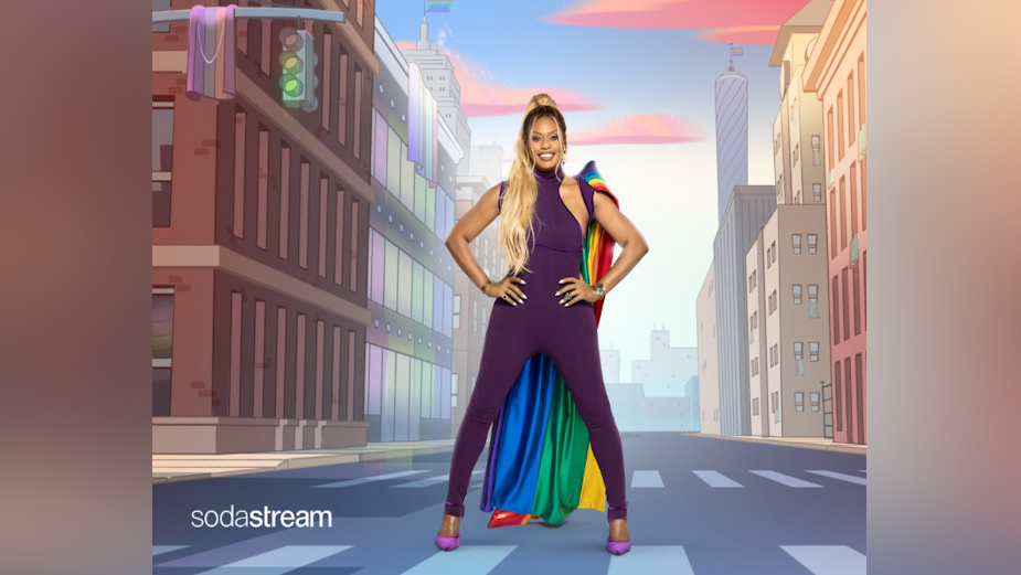 Laverne Cox Shares Her Rainbow Story for SodaStream's Pride Month Celebrations
