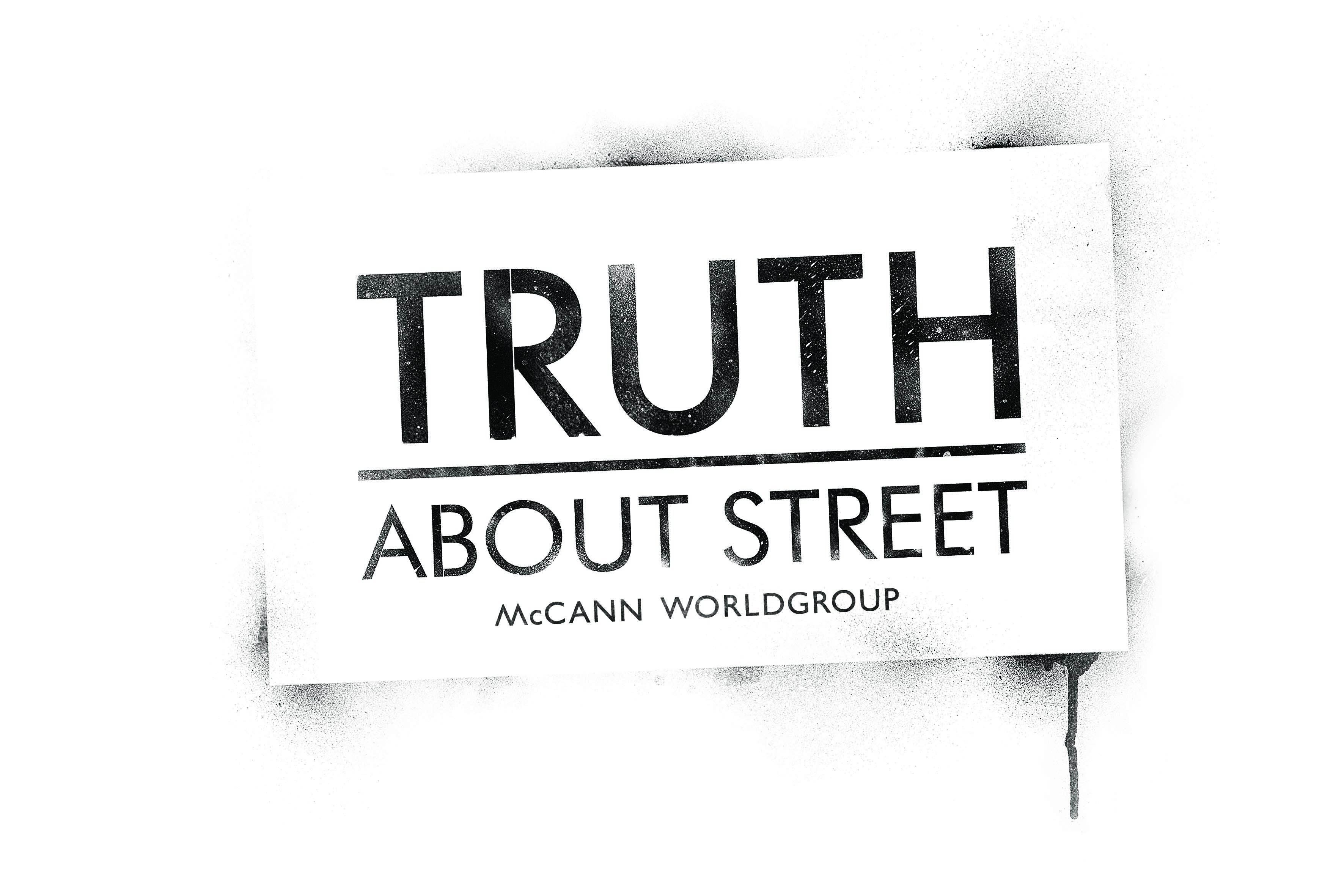 McCann Worldgroup Unveils 'Truth About Street'